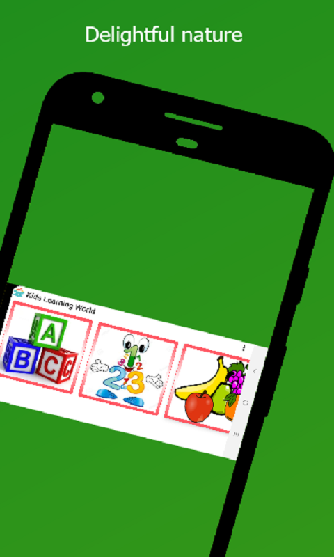 Kids Learning App Screenshot 1