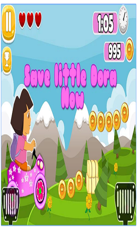 Little dora Magical forest Screenshot 1