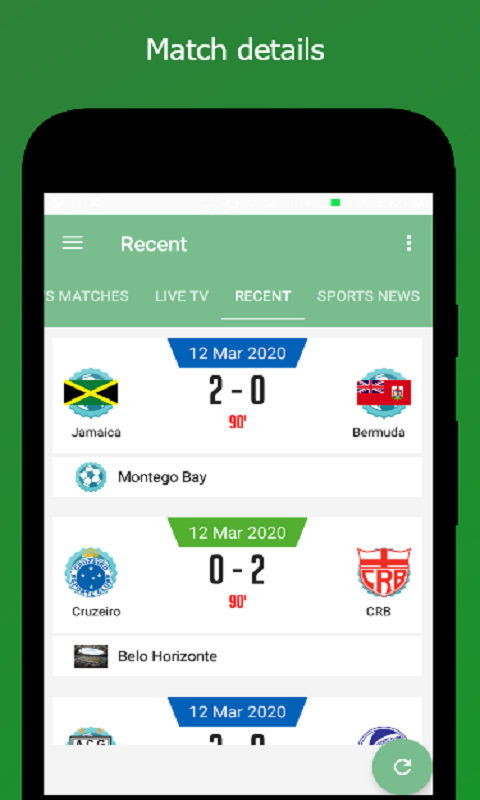 Live Sports Screenshot 1