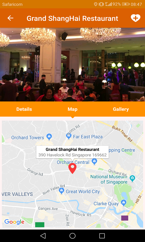 Restaurant and Hotels Finder Screenshot 3